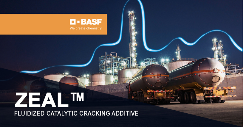 New ZEAL fluidised catalytic cracking additive delivers more propylene for refiners.