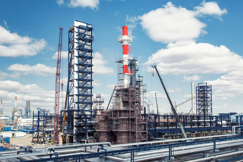 The project forms a major part of the Omsk Refinery's development programme, being undertaken by Gazprom Neft since 2008.