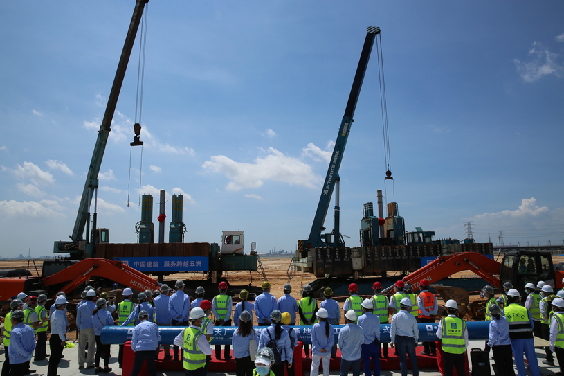 As of today, the project has reached a record of 50,000 safe work hours without a lost time injury since commencement.