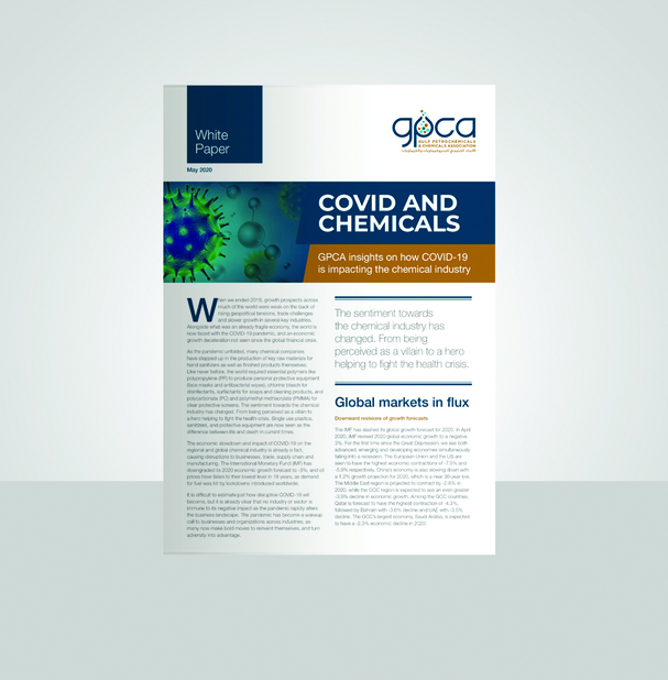 According to the paper, the pandemic is revealing flaws in the supply chain that the chemical industry has relied upon for decades, which presents an invaluable opportunity to address existing weaknesses and transform the region's supply chain.