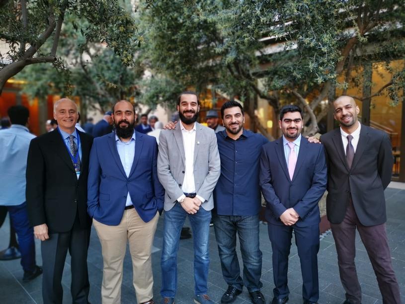 The robotic solution was invented by a team of EQUATE engineers that included Soud Al-Deweesh, Yousef Al-Haddad, Abdulrahman Al-Mutawaa, Yousef Safar and Abdullah Al-Ruwayeh.