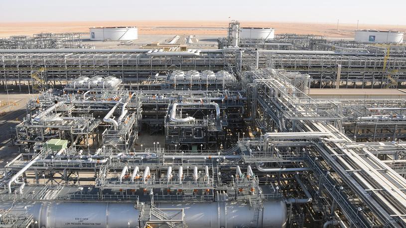 Saudi Aramco's Khurais facility.