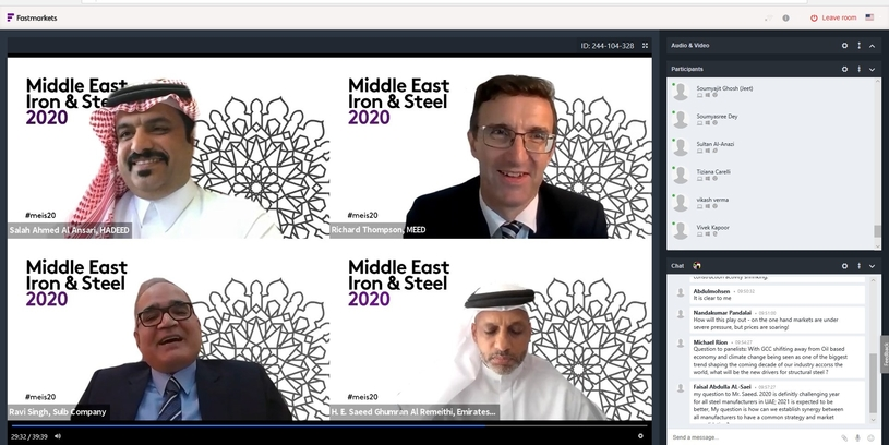 Middle East Iron and Steel Conference discussed market updates into the trends impacting the Middle East steel industry and the outlook to 2021, the latest developments in steelmaking technologies and how they are driving operational effectiveness and greener steel.